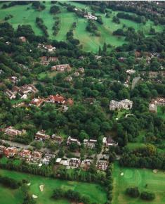 Aerial Photograph of Willington Road and The Bishops Avenue