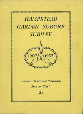 Hampstead Garden Suburb Jubilee Souvenir Booklet