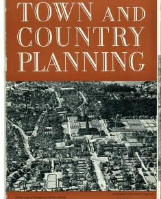 Jubilee edition of \'Town and Country Planning\' front page