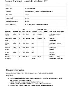 Census 1911 - 24 Asmuns Place